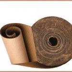 Bobinas de papelão ondulado para forração